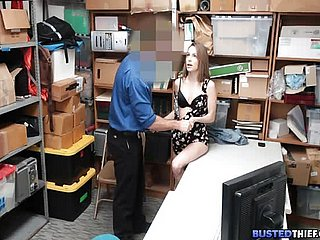 Hot Pregnant Teen Snarled illegal Shoplifting