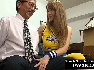 Nasty Japanese Young Cutie Cheerleader