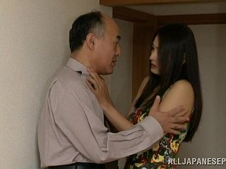 Marvelous Asian wife possessions say no to pussy sucked then hammered