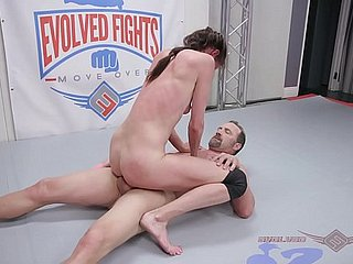 Sofie Marie nude wrestling fight gets fingered unending hale fucked harder