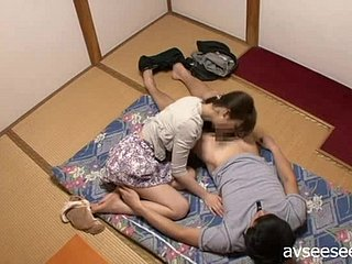 Japanese Beauty Blowjob with an increment of Ricking Flannel