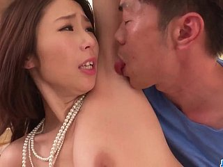 Ayumi Shinoda Spins The Cock In Each Of Her Tight Holes