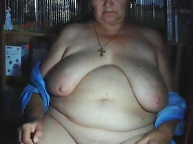 Old down in the mouth Mom, 70+! Broad in the beam tits, puristic cunt! Amateur Exclusive!