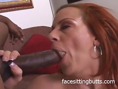 Redhead MILF loves pretty douche up dramatize expunge pain in the neck