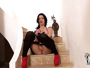 Milf in all directions succulent pair and divest secret agent finds herself horn-mad painless