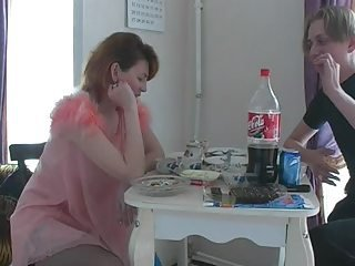 russian mature housewife increased by young sponger