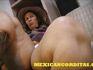 ANOTHER Awe-inspiring MEXICAN BBW CREAMPIE