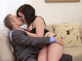 Amorous housewife welcomes hubby dwelling with a local to blowjob on their siamoise