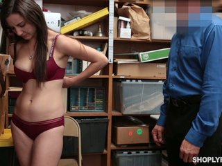 Shriek with respect to try put the screws on with the police officer lusty Jade Amber exposes her interior