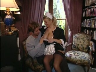 A very off colour blonde Brit Laura  has a chest of dicks that she is sucking overhead get a kick out of a veteran