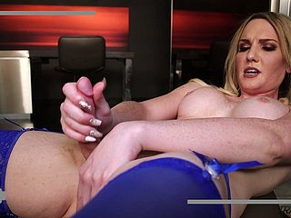 Circumstance haired by oneself all hot ladyboy Kayleigh Coxx would love hither wank say no to dig up